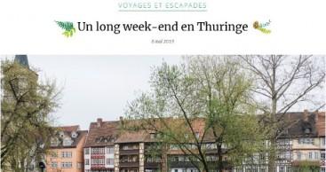 Thüringen-Kampagne mit Lonely Planet in Frankreich gestartet
