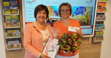 Akzeptanzstellen des Erfurt-Gutscheins profitieren von über 1.000.000 Euro Umsatz