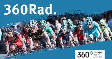 Thüringen ist Radland. Gemeinsame Kampagne im Rahmen der Deutschland Tour