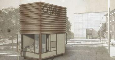 Kiosk für Quartier Weimarer Moderne