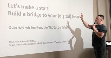 "#ThüCAThon 2019: Zweitplatziertes Projekt ""Let's make a start"""