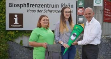 Neue Ausbildende bei der Rhön GmbH