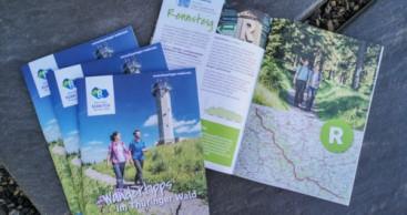 """Neue Broschüre """"Wandertipps im Thüringer Wald"""" erschienen"""