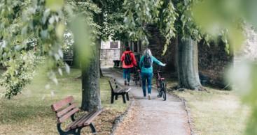 Auf den Spuren eines Bauhäuslers: Feininger-Radweg