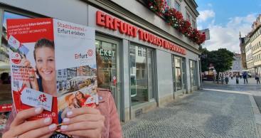 """""""Stadtbummel – Erfurt erleben"""" lädt zum Flanieren durch Erfurt ein"""