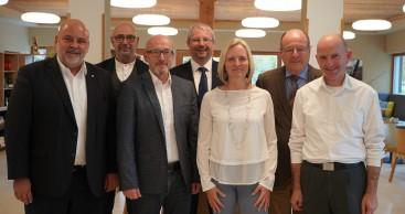 Tourismuspolitische Sprecher zu Gast in der Rhön