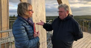 Recherche-Tour in der Rhön
