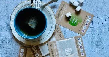 Teekärtchen heißen Gäste im Weimarer Land willkommen