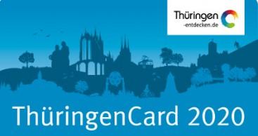 Die ThüringenCard 2020 ist da!