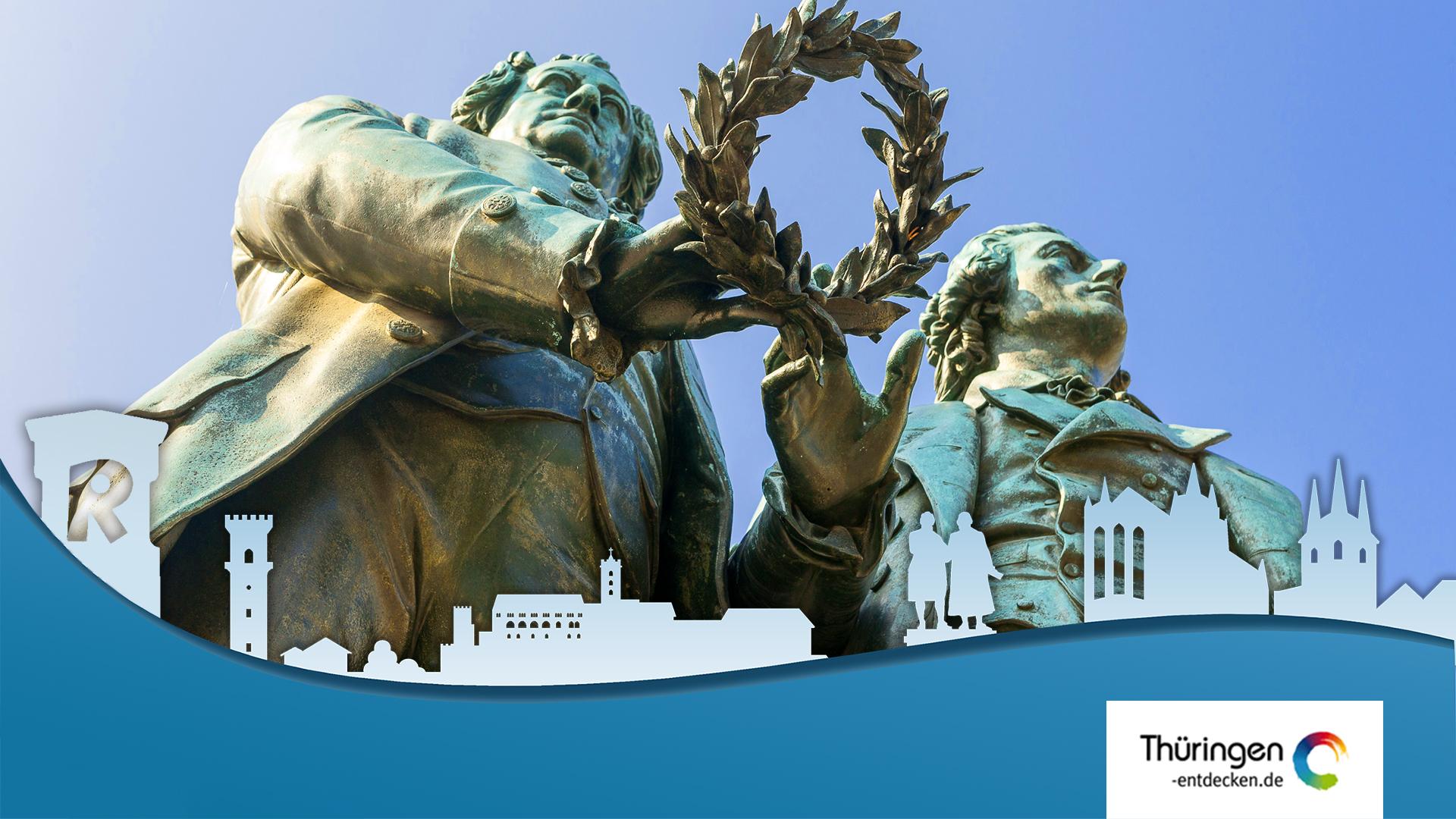 Goethe und Schillerdenkmal Weimar, thumbnail youtube