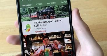 YouTube-Kanal Südharz Kyffhäuser gestartet