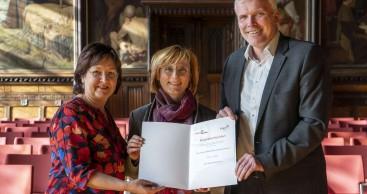 Frau Kathrin Weiß ist neue Erfurt-Botschafterin