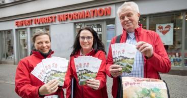 Erfurt Tourismus und Marketing GmbH ist offizieller Partner für BUGA-Führungen