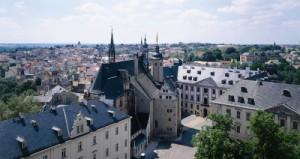 Ansicht vom Schloss in Altenburg