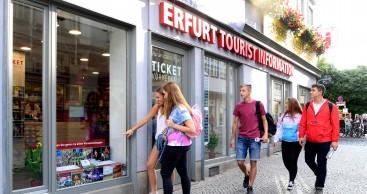 Erfurt Tourist Information wieder geöffnet