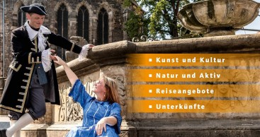 """Note """"sehr gut"""" für den Reiseplaner der Bach-Stadt Arnstadt"""