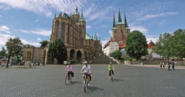 Fahrradverleih in der Erfurt Tourist Information