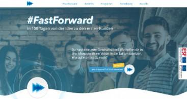 Mit #FastForward schneller zum eigenen Unternehmen