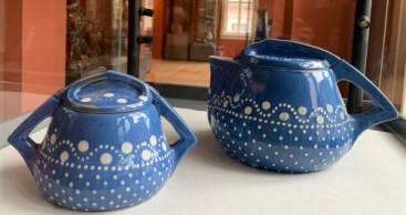 Van de Velde Keramiken für Bürgel