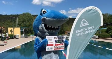 Auftakt zum Meininger 24-Tage-Schwimmen