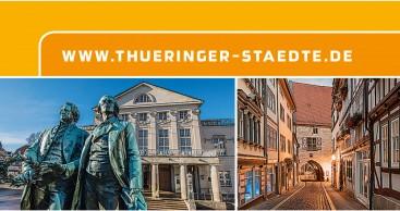 Thüringer Städte werben für Kurzreisen