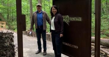 Barrierefreie Waldpromenade eröffnet