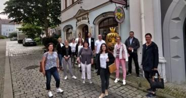 Das Team des TVV zur Informationstour in Gera