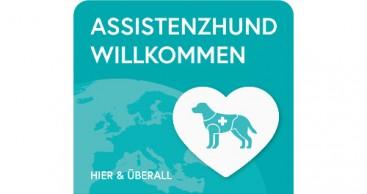Assistenzhund willkommen – auch in Hotels und Restaurants