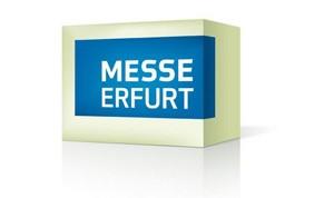 Logo mit Schriftzug Messe Erfurt