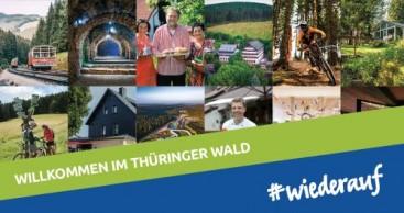 Thüringer Wald: #wiederauf Kampagne erzielt hohe Reichweite