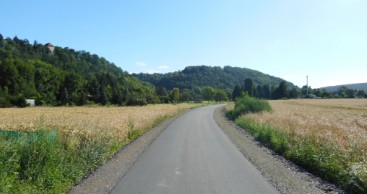 Verlegung Saaleradweg zwischen Niederkrossen und Orlamünde