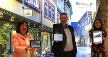 "Start der Thüringer Tourismusdatenbank ""ThüCAT"""