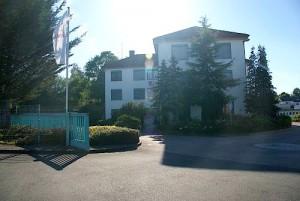 Verwaltungsgebäude der VUW  und neue Geschäftstelle des Werratal Touristik e. V. in der Hersfelder Straße 4 in Bad Salzungen