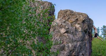 Auf ein Kletterabenteuer im Thüringer Wald