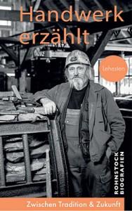 """Das Titelbild der Lehesten-Broschüre zum Erzählprojekt """"Handwerk erzählt"""" zeigt einen echten Bergmann."""