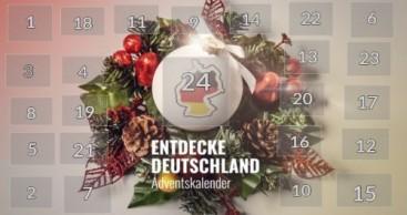 Entdecke Deutschland Adventskalender