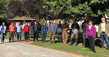 Natur- und Landschaftsführer ausgebildet