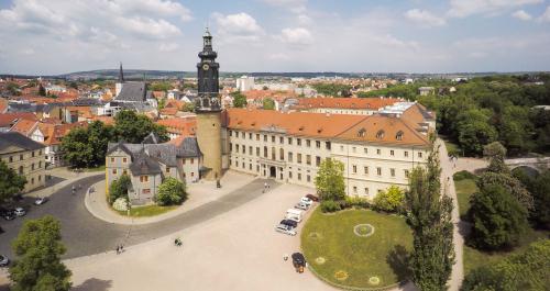 Blick auf die Stadt Weimar