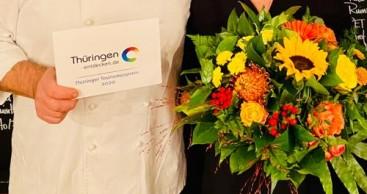 Übergabe Thüringer Tourismuspreis