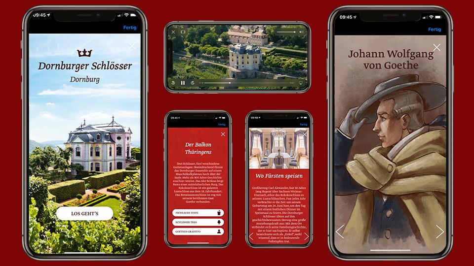 App Tour Dornburger Schlösser in der Thuringia.MyCulture.-App