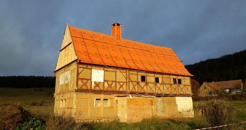 Wohnhaus aus Abtsbessingen vom Ende des 16. Jahrhunderts
