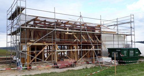 Wiederaufbau des Abtsbessinger Hauses, Erdgeschoss