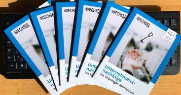 Loslassen und Neuanfang – Broschüre für Unternehmensnachfolge