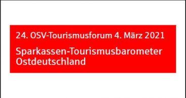 Aktuelle Ergebnisse des Sparkassen-Tourismusbarometers