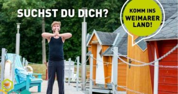 "Bin dann mal im ""Weimarer LandUrlaub"""