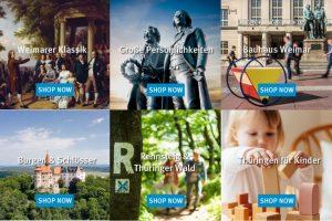 Themenwelten des Thüringen-Shops