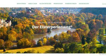 Neue Landing Page Elsterperlenweg® online