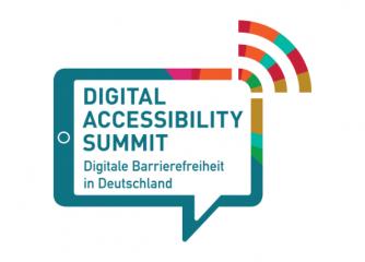 Logo mit Schriftzug Digital Accessibility Summit