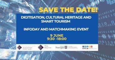 Infosession und Matchmaking zu Digitalisierung, Kulturerbe und Tourismus