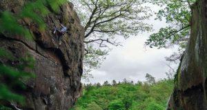 Thomas Hocke auf Klettertour